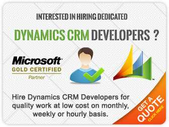 microsoft dynamics crm developer