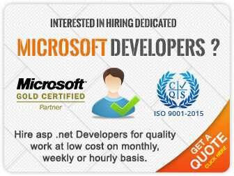 Hire Microsoft Web Developers